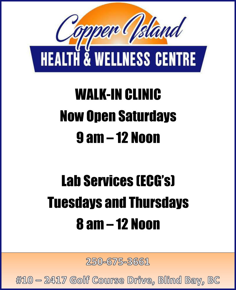 Blind Bay Clinic Hours
